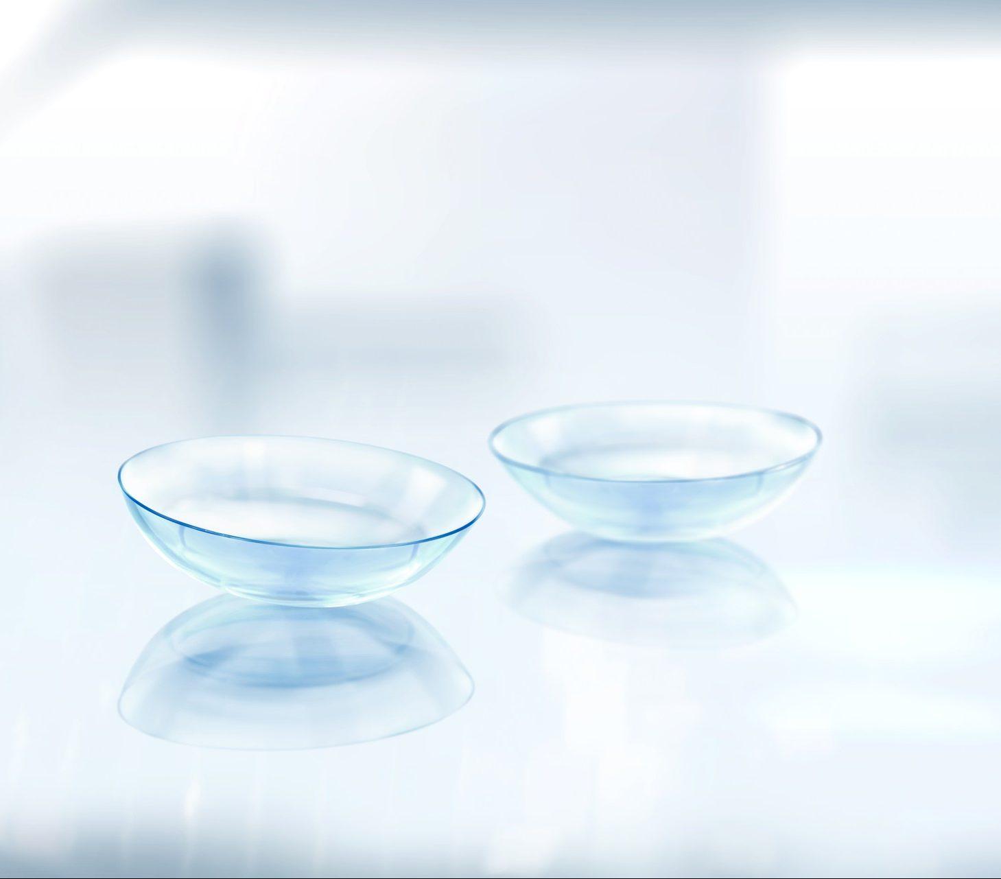 Formstabilie Kontaktlinsen